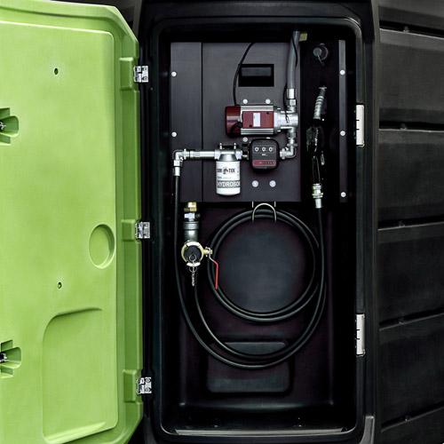 Мини АЗС и инструмент для раздачи дизтоплива и adBlue