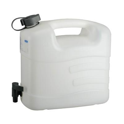 21163 PRESSOL Прессол Канистра со сливным краном для питьевой воды 10 л, 15 л