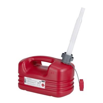 21131 PRESSOL Канистра 5 л для бензина полиэтилен со сливной трубкой