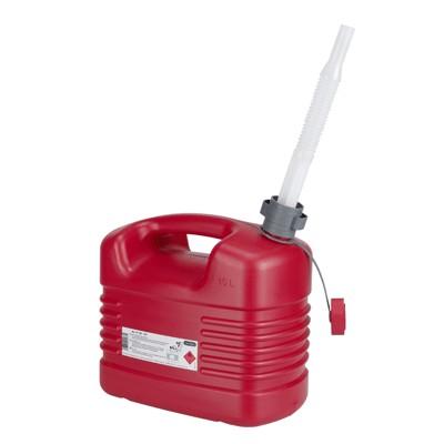 21133 Канистра 10 л для бензина полиэтилен с гибким сливом