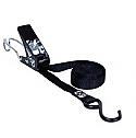 11723 Ремень крепежный с храповиком, 1 S и 1 J-крюками, 2 м