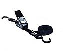 11722 Ремень крепежный с храповиком и 2 S-крюками, 2 м